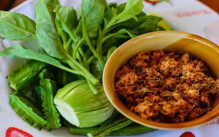 น้ำพริกแมงดา อาหารไทย เมนูพื้นบ้าน อาหารสุขภาพ พร้อมวิธีทำ